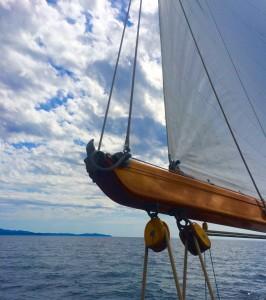 Bôme sérénade classic yacht